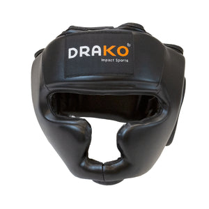 DRAKO VINYL TRAINING BOXING HEADGEAR
