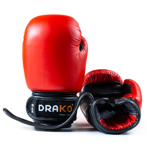 DRAKO YOUTH LEATHER BOXING GLOVES