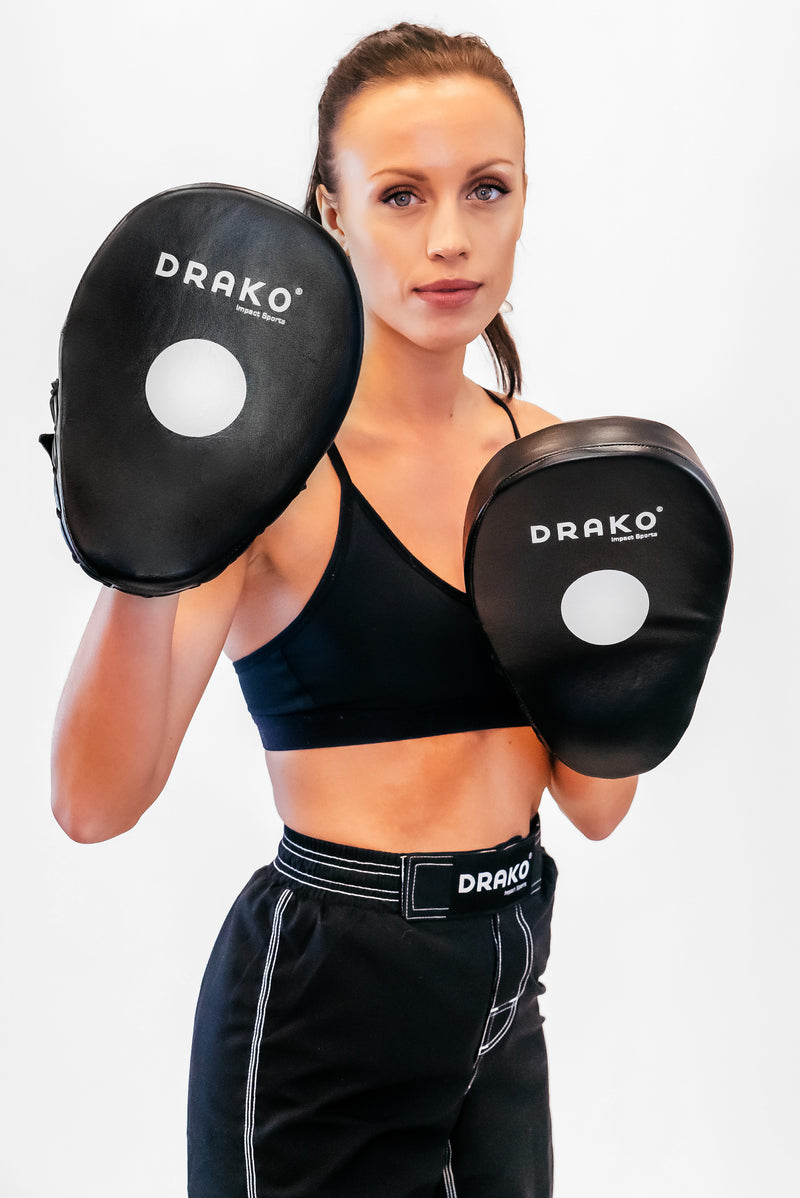 DRAKO DELUXE LEATHER FOCUS MITTS