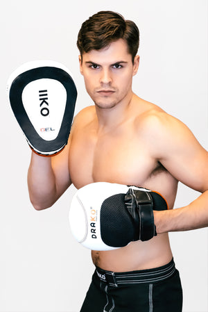 DRAKO 2KO GEL FOCUS MITTS