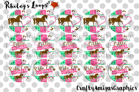 Cowgirl Ribbon Matching