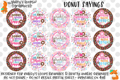 Donut Sayings