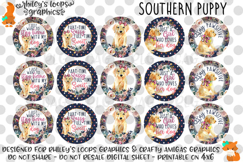Southern Puppy Sayings