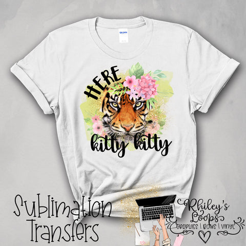 TIGER 004 SUBLIMATION PNG