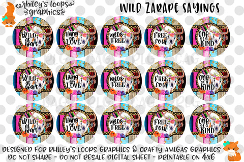 Wild Zarape Sayings