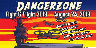 Dangerzone Fight and Flight 2019 - FPV Drone Race (65 mm whoop)