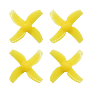 40mm 4-blade Micro Whoop Propellers ( 1.0mm Shaft )