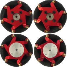 Load image into Gallery viewer, FingerTech Mecanum Wheels (Set of 4)