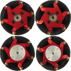 FingerTech Mecanum Wheels (Set of 4)