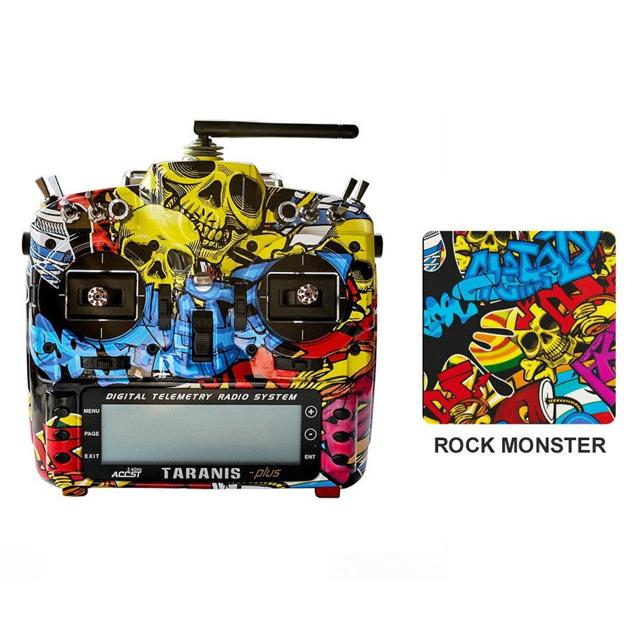 TARANIS X9D PLUS SPECIAL EDITION W/ M9 GIMBALS AND EVA CASE (ROCK MONSTER)