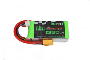 PULSE 1350mah 3S 11.1V 75C - FPV Racing Series - LiPo Battery