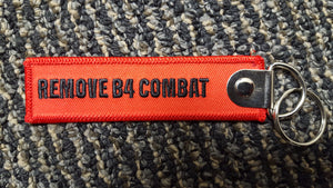 Remove Before Combat Tags