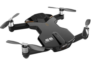 Wingsland S6 Pocket Selfie RC Drone WiFi With 4K UHD Camera FPV Quadcopter (Black)