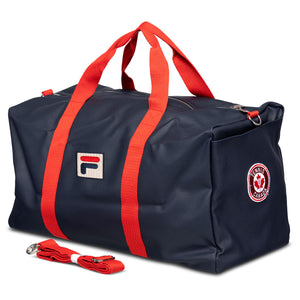 TC x FILA Navy Duffel Bag
