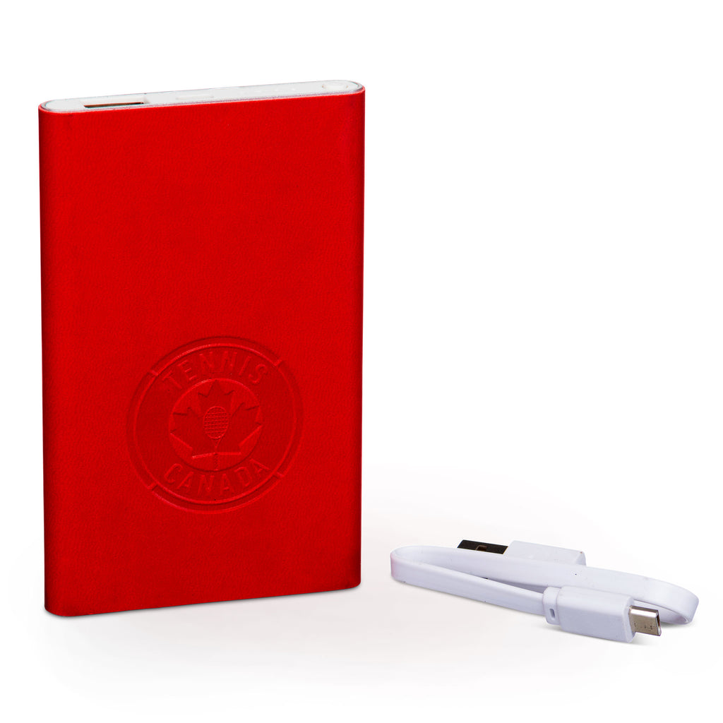 Tennis Canada Portable USB Charger