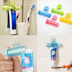 Creative Rolling Toothpaste Dispenser