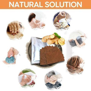 Herbal Ginger Body Relief Patch (Set of 10)