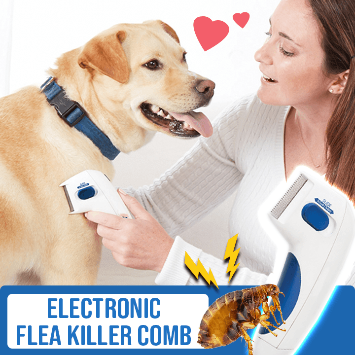 Electronic Flea Killer Comb