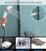 Multi-Purpose Shower Head with Storage Rack Set