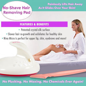 No-Shave Hair Removal Pad