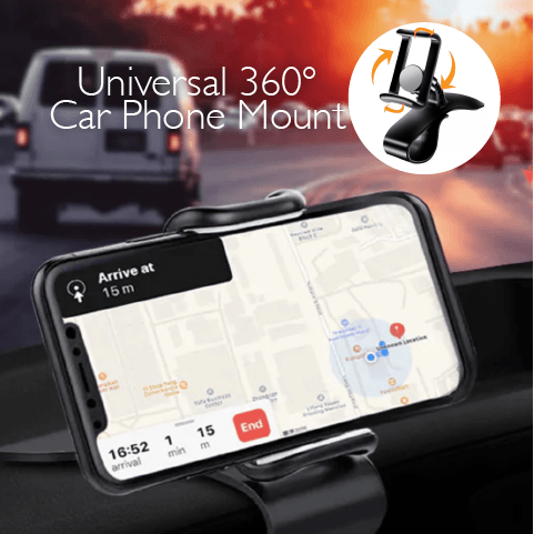Universal 360° Car Phone Mount