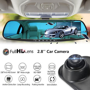 HD Mirror Car Cam
