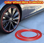 Color Wheel Rims Protectors