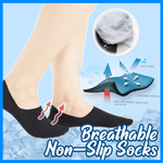 Breathable Non-Slip Socks (3 Pairs)