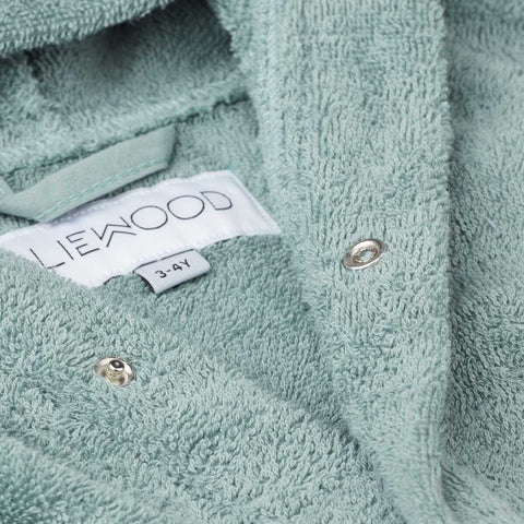 Liewood Lily badekåbe Bathrobe 7376 Rabbit peppermint