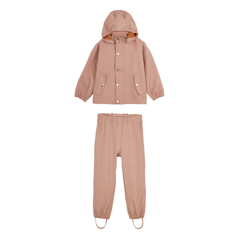 Liewood Parker regntøj - junior - Dark rose - Rainwear