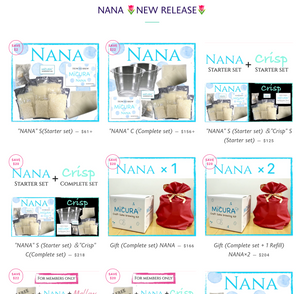 MiCURA Sake homebrewing kit NANA 🌷NEW RELEASE🌷