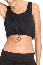 Top Cropped Swag Laser Preto