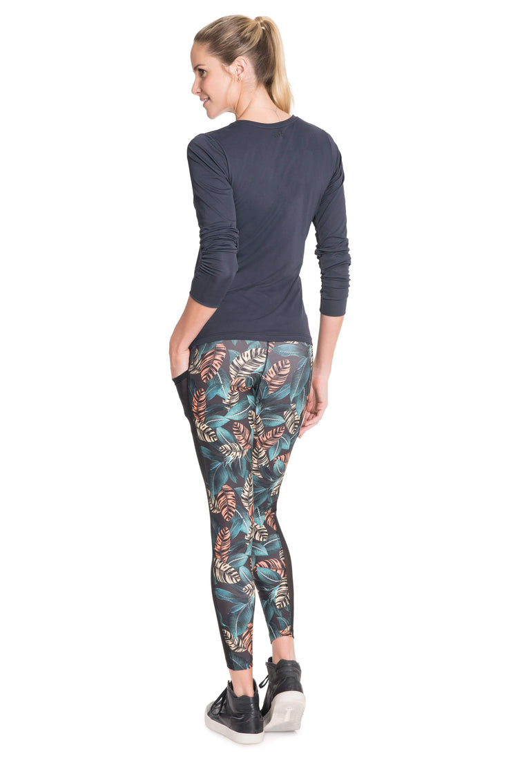 Leggings Ultimate Neon Leaf