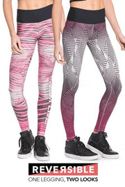 Leggings Power Reversible Rosa