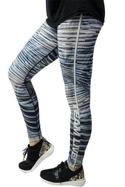 Leggings Power Reversible Azul