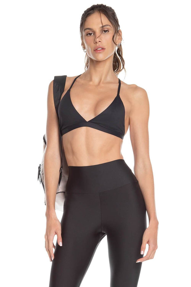 top desportivo casual feminino preto