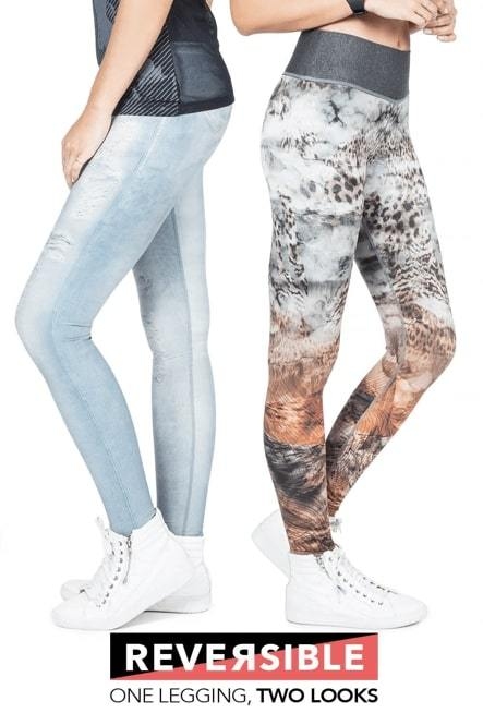 Leggings Reversible Asian Tiger