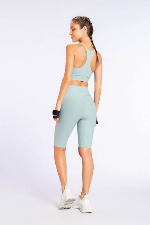 Essential Racer Top Blue