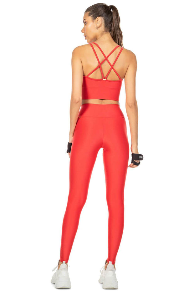 Legging Fearless Red