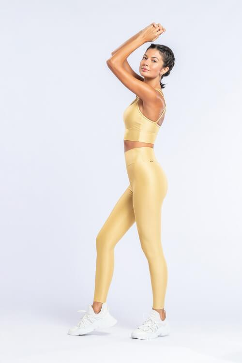 Leggings Fearless Amarelo