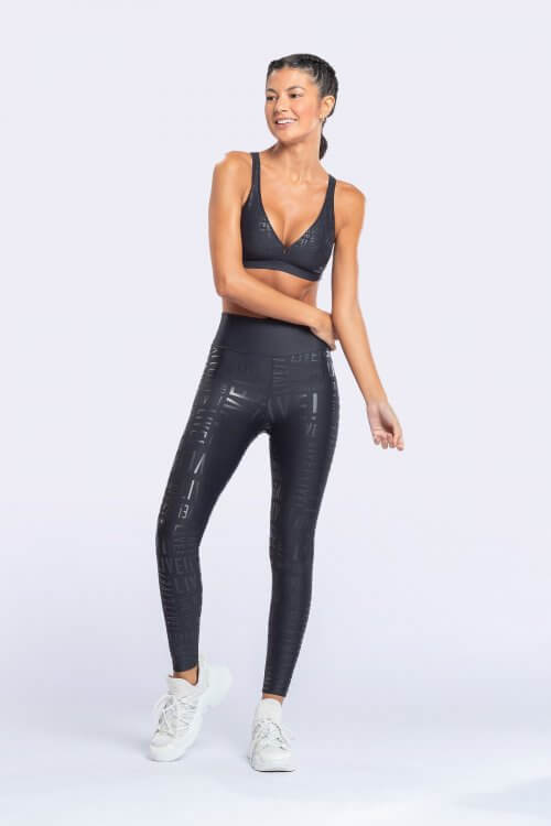 Leggings Live! Essential Preto