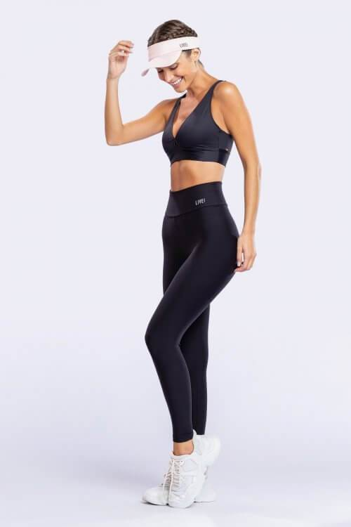 Essential Sense Strappy Top Black