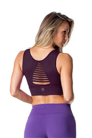 Cut Top Purple