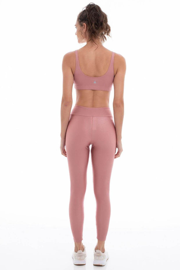 Leggings Basic Color Rosé
