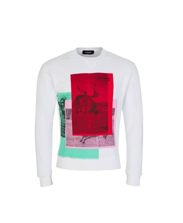 Dsquared2 Dancing Bull sweatshirt