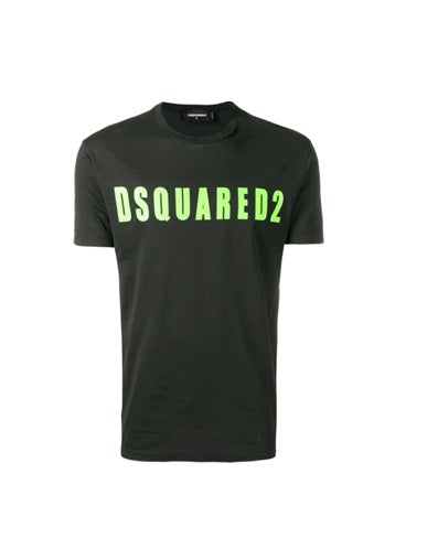 Dsquared2 Logo print t shirt - Green font