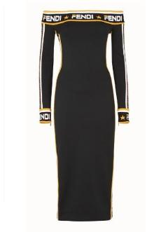 Fendi Black jersey Dress - Munazul