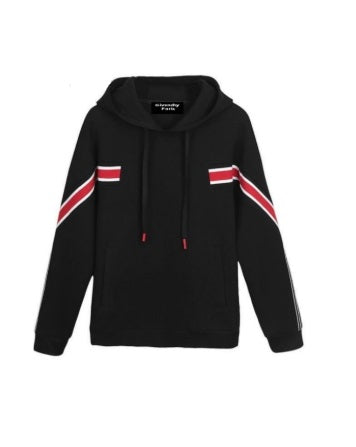 Givenchy Red striped hoody - Munazul