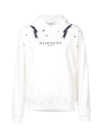 Givenchy graphic print star hoody - Munazul