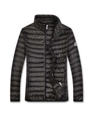 Moncler Black Homme quilted jacket